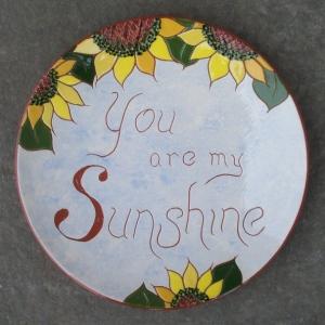 8 in. 'Sunshine' Plate - $39.