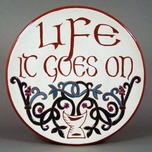 8 in. Celtic Tree of Life Plate - $39.