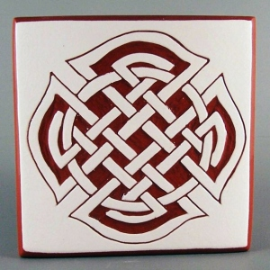4 in. square Firemen Accent tile - $15.