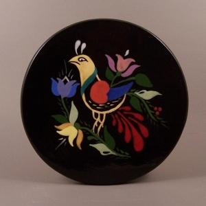 6 in. round Bird tile trivet - $25.