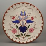 #7 – 10 in. Wedding Plate – $ 49.