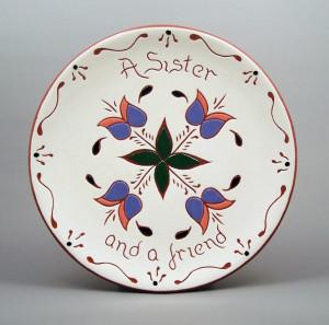 8 in. Sister Plate - $39.